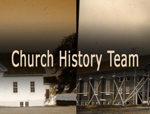 History Team update