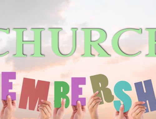 Church Membership by Pastor Steve Scoffone
