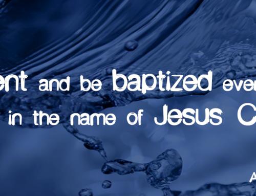 Why Baptism? by Pastor Scott Davis